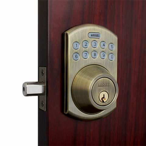 Lockey USA Electronic Bluetooth Keypad Deadbolt Smart Lock