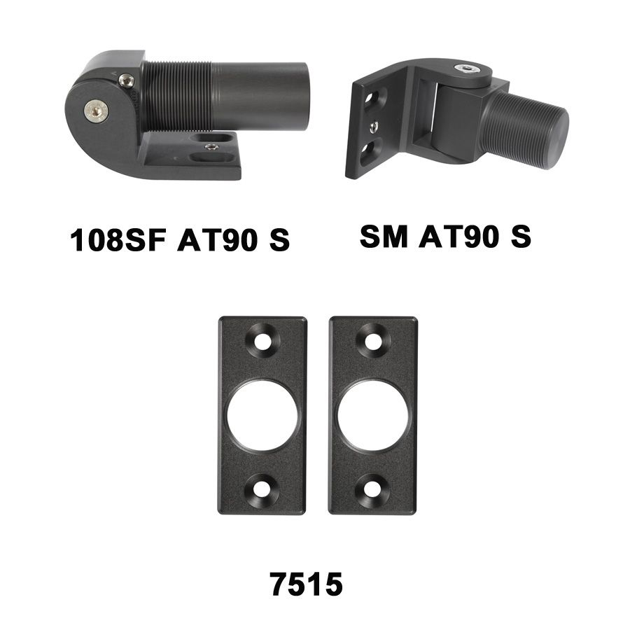 D&D Technologies SureClose Hinge/Closer (Safety Model) Kit - 108SF AT90 S