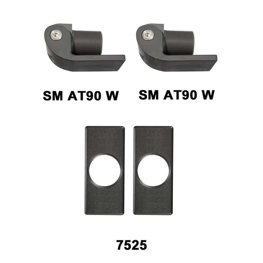 D&D Technologies SureClose Hinge Kit - SM AT90 W