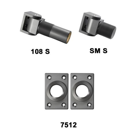 D&D Technologies SureClose Hinge/Closer Kit - 108 S