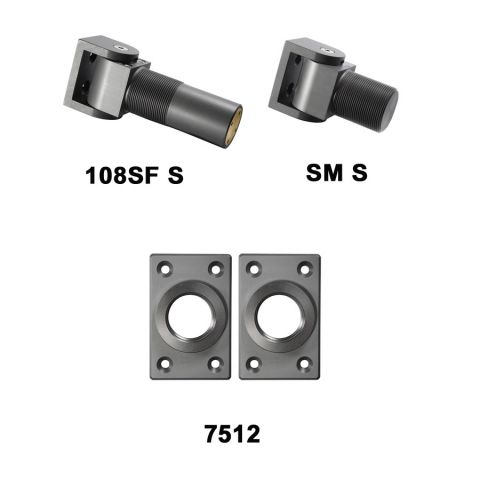 D&D Technologies SureClose Hinge/Closer (Safety Model) Kit - 108SF S