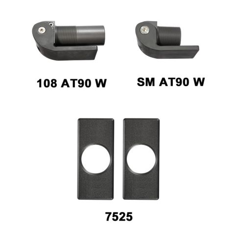 D&D Technologies SureClose Hinge/Closer Kit - 108 AT90 W