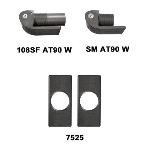 D&D Technologies SureClose Hinge/Closer (Safety Model) Kit - 108SF AT90 W