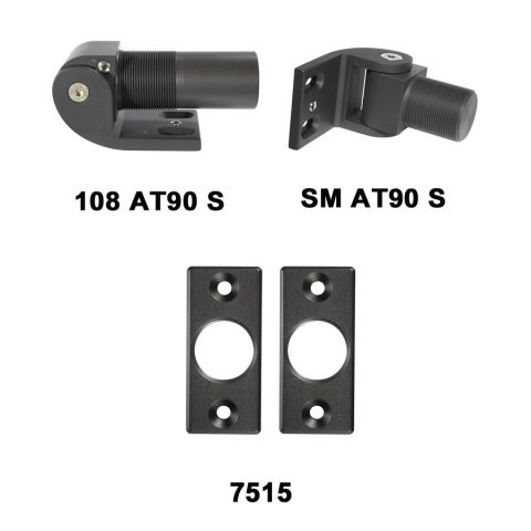 D&D Technologies SureClose Hinge/Closer Kit - 108 AT90 S