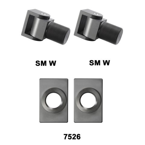 D&D Technologies SureClose Hinge Kit - SM W