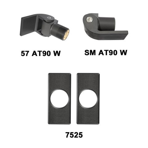 D&D Technologies SureClose Hinge/Closer Kit - 57 AT90 W