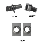 D&D Technologies SureClose Hinge/Closer Kit - 108 W (77108114)