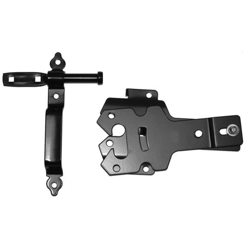 D&D Technologies Post Latch Contemporary - Black