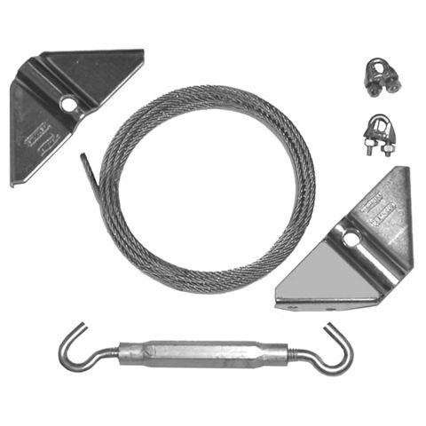 D&D Technologies Gate Anti-Sag Kit - Zinc