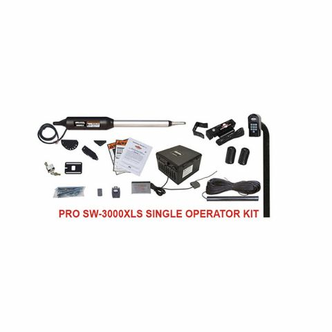 GTO PRO3000XLS Single Swing Gate Operator Kit