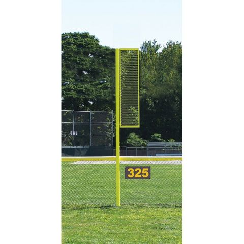 JayPro Sports Baseball and Softball Foul Poles - 12', 20', & 30' High