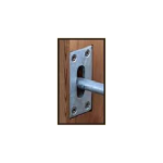 Snug Cottage Hardware Escutcheon Plates for Heavy Duty Cane Bolts (5000-EP)