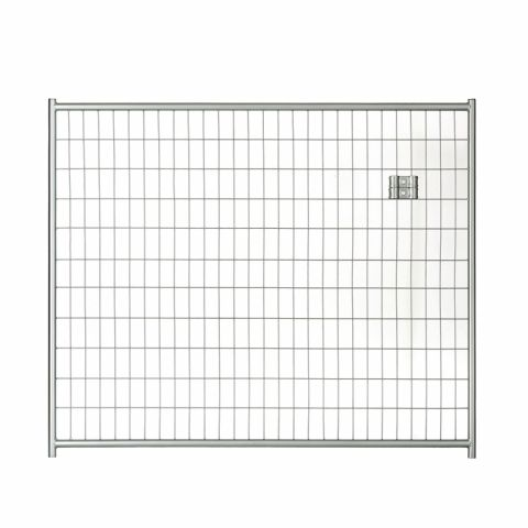 Jewett-Cameron Lucky Dog Silver Welded Wire Kennel Panels without Gates