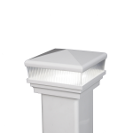 LMT Neptune Scallop Lens Low Voltage LED Lighting Post Caps (LMT-1660-1663)