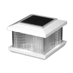 LMT Galaxy Solar Lighting Post Cap - White (LMT-5558)