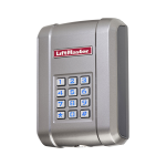 Liftmaster KPW250 - 250 Code Wireless Keypad - Left View