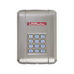 Liftmaster KPW250 - 250 Code Wireless Keypad - Face View