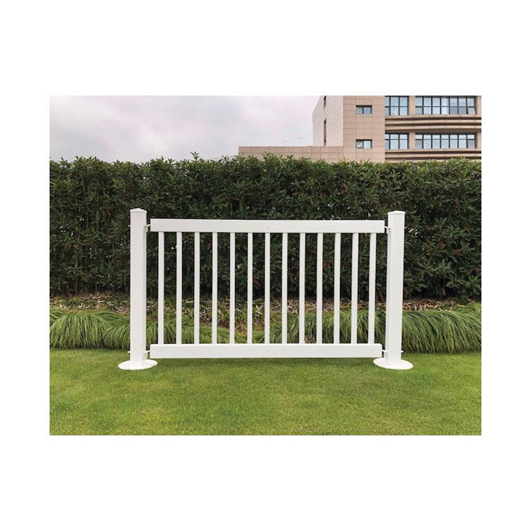 Signature Fencing Special Event Portable PVC Fencing - Traditional Style