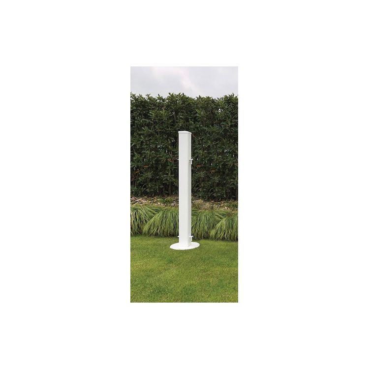 "Signature Fencing Signature Panel Fence Post - Picket Style - 3.5"" Square x 42"" - Includes Hardware & Base"