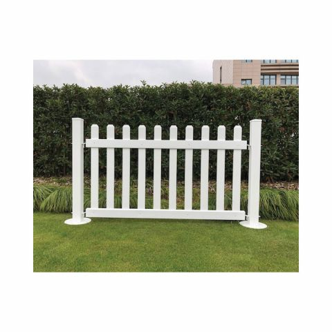 Signature Fencing Special Event Portable PVC Fencing - Picket Style