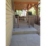Hoover Fence Co Install Jerith 202 Metal Fence - Newton Falls Ohio