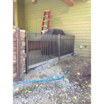 Hoover Fence Co Install Jerith 202 Metal Fence - Newton Falls Ohio - 4