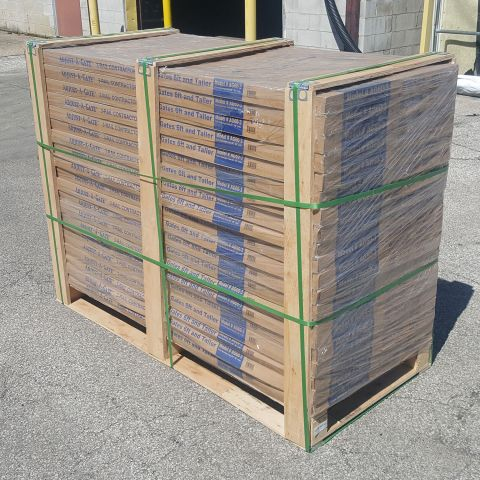Jewett-Cameron Adjust-A-Gate Wood Fence Gate Frame Kits - Bulk Pallet Pricing