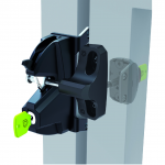 D&D Technologies LokkLatch 3 Plus General-Purpose, Dual Lockable Gate Latch (LL3PW)