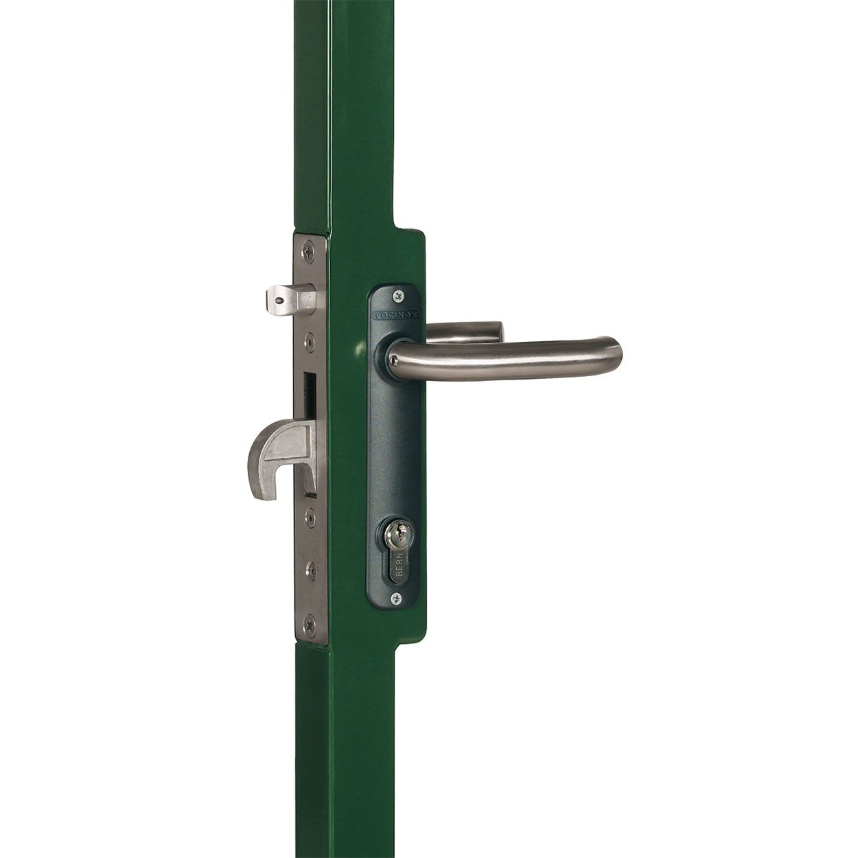 Locinox Hybrid Lock Kit for Ornamental Metal Gates