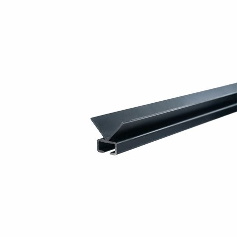 Miller Edge Sweep Edge Aluminum Mounting Channel for ME120 Sensing Edge