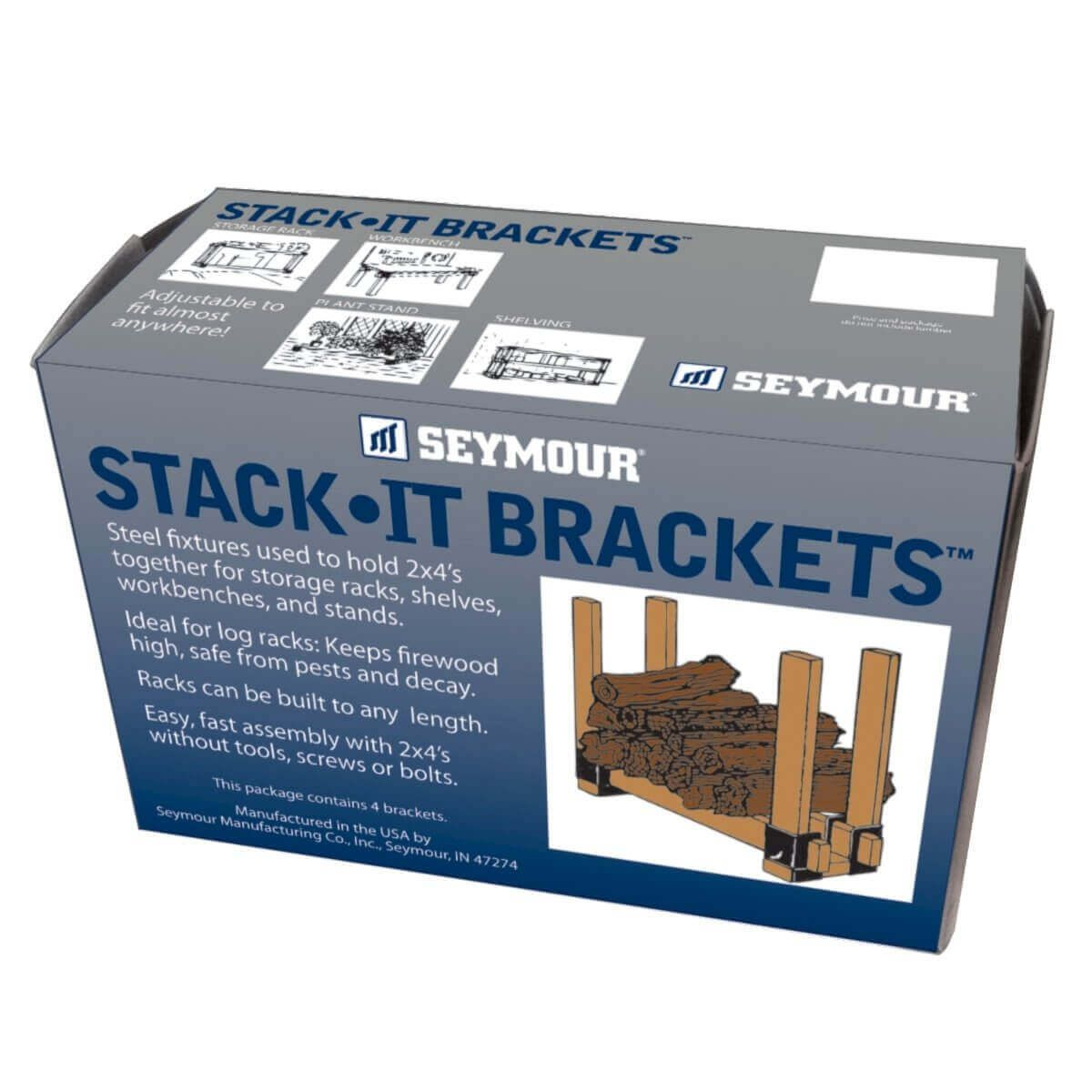 Seymour Stack-It-Brackets - Set of 4 Brackets