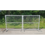 All Aluminum Double Swing Gate - 2
