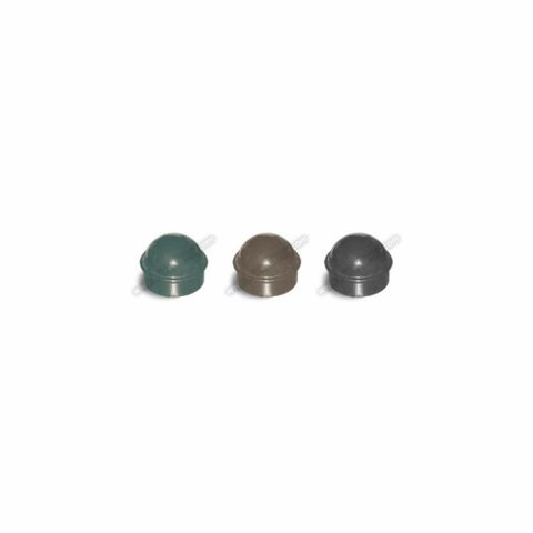 Chain Link Fence Post Caps - Black, Brown, and Green
