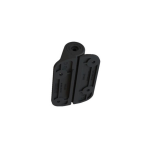 Nationwide Industries Cornerstone 2 - Heavy-Duty Non-Adjustable Self-Closing Nylon Hinges w/ Alignment Tab (C2H121NB)
