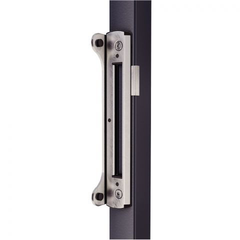 Locinox Narrow Gate Stop and Keeper for Swing Gate Locks