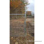 3-Strands of Class III Galvanized Barb Wire Installed by Hoover Fence