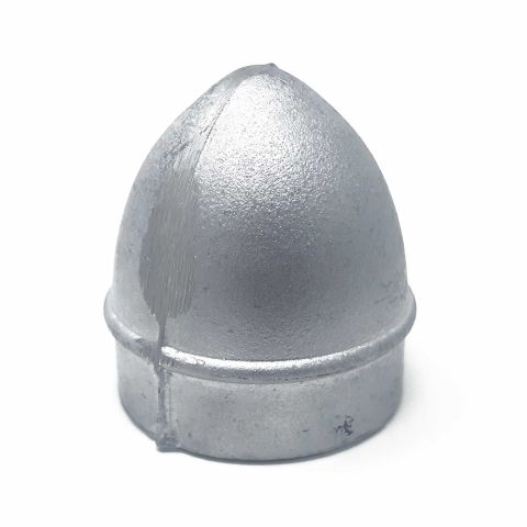 Heavy Duty Sand Cast Aluminum Acorn Chain Link Fence Post Caps