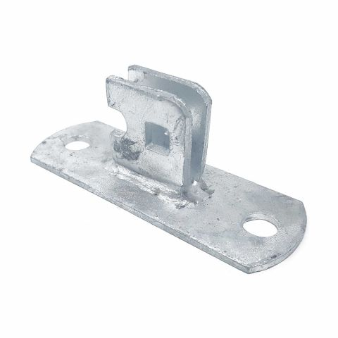 Wall Mount Plate For Residential Chain Link Fence Fork Latch (H-0247)