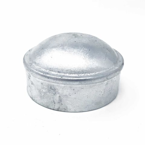 Pressed Steel Dome Chain Link Fence Post Caps