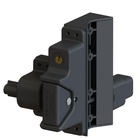 Nationwide Industries Keystone Self-Locking PanicLatch, Round Post Adaptor