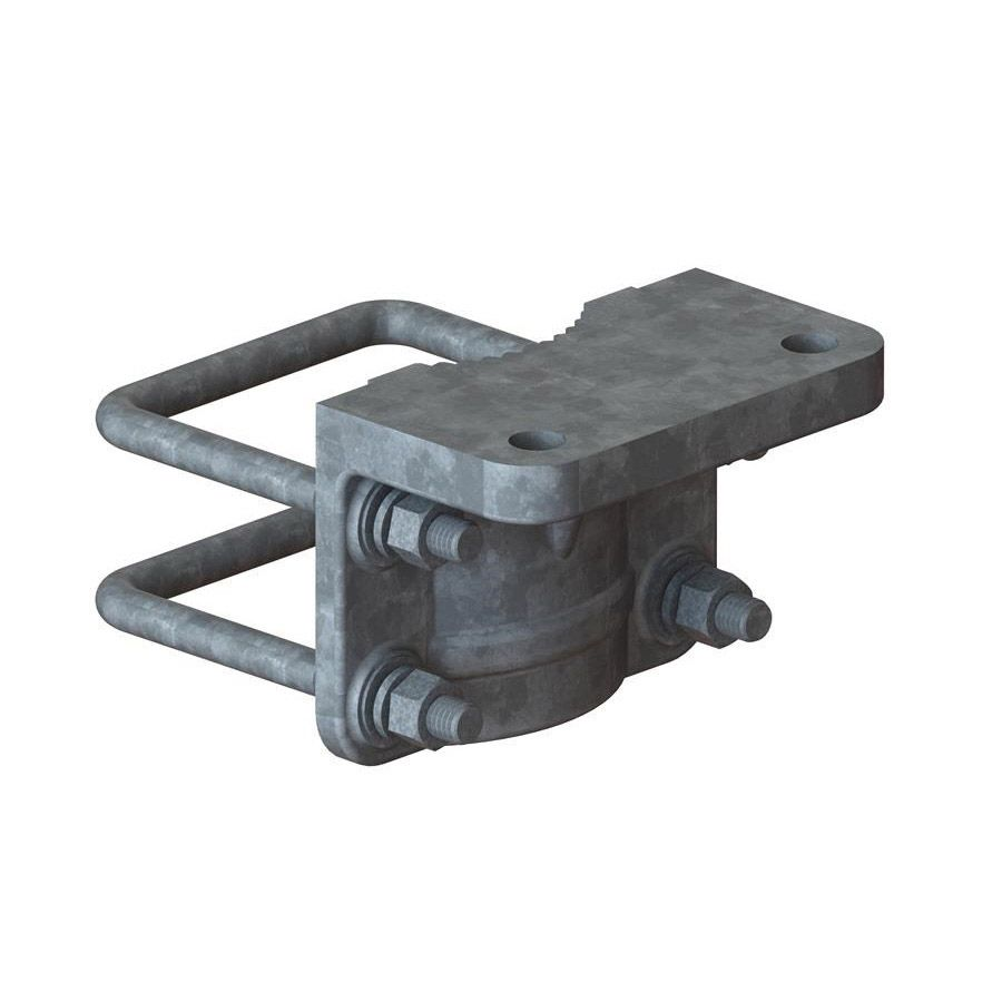 "Nationwide Industries Trolley Bracket, Square, 4"", HDG"