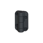 Nationwide Industries Cornerstone 2 - Heavy-Duty Non-Adjustable Self-Closing Nylon Hinges (C2H120NB)
