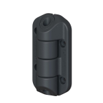 Nationwide Industries Cornerstone 2 - Nylon Non-Adjustable Self-Closing Hinges (C2H100N)
