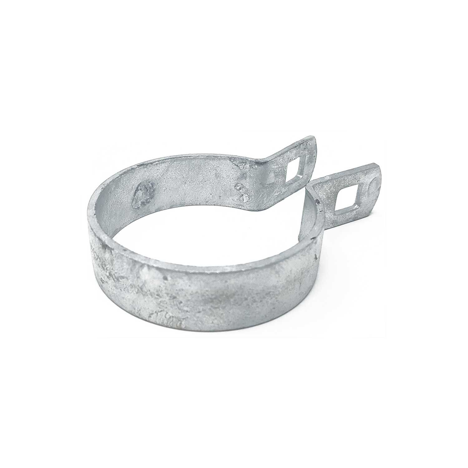 Chain Link Fence Flat Brace Bands - Galvanized