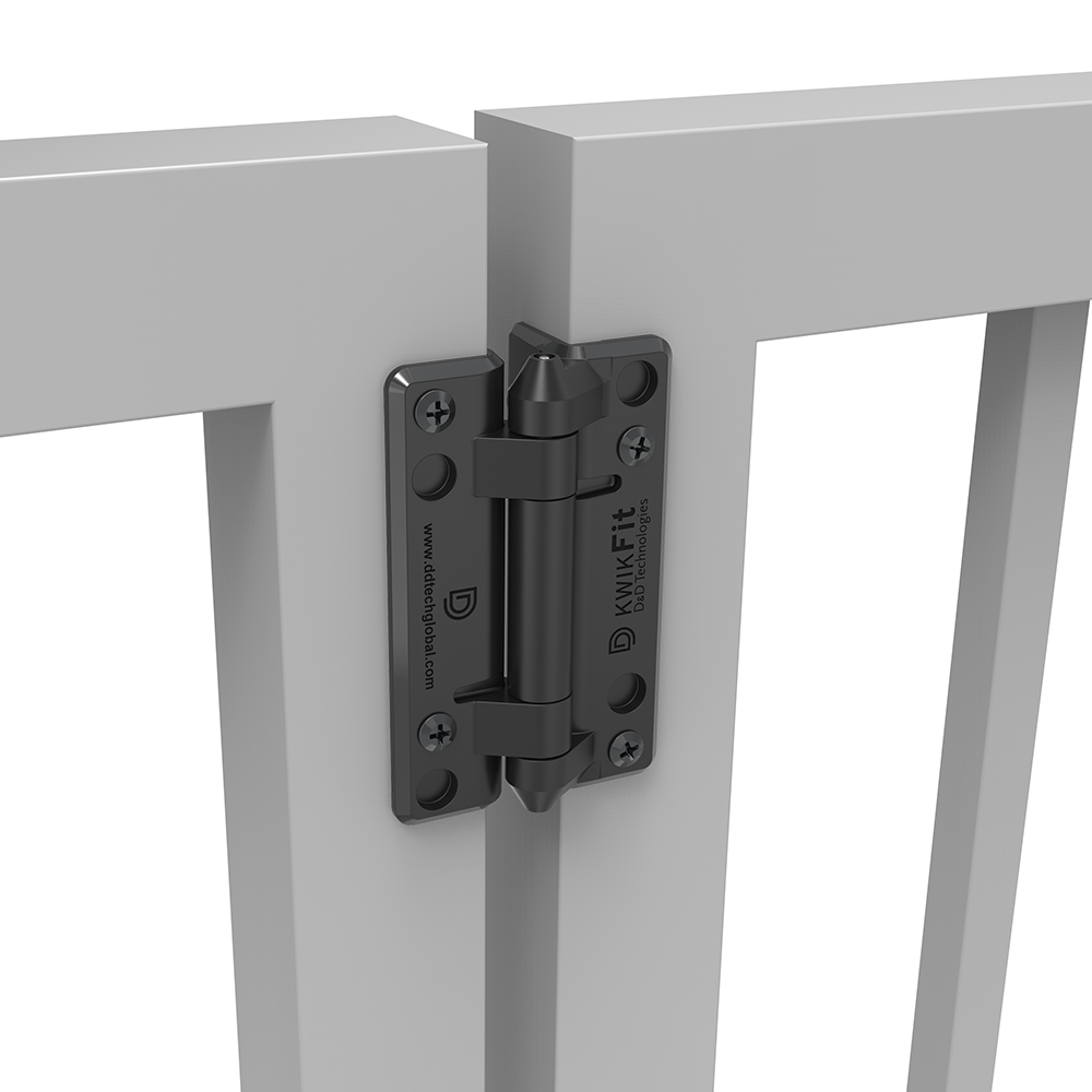 D&D Technologies KwikFit Polymer Hinges - Non Self-Closing