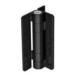 D&D Technologies Kwik Fit Aluminum Hinge Wall or Post Mount (KF3A)