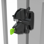 D&D Technologies LokkLatch 3 Plus General-Purpose, Dual Lockable Gate Latch (LL3P)