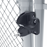 D&D Technologies Lokk-Latch Round Post Gravity Latch with External Access Kit (LLABRND-P)