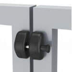 D&D Technologies Magna-Latch Side Pull, Magnetic Child Resistant Latches (MLSPS2-P)