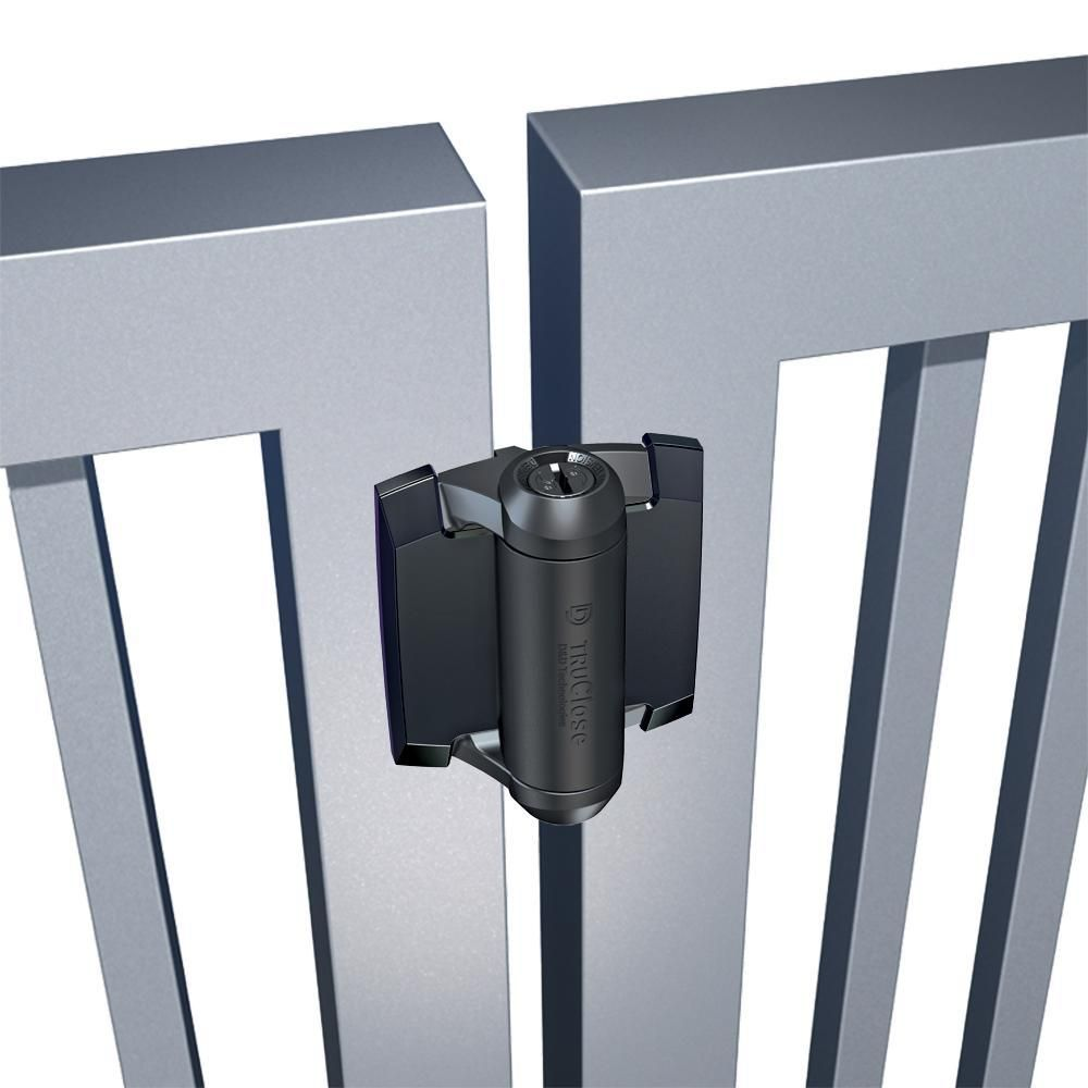 D&D Technologies TruClose Series 3 Regular Hinges for Metal Gates - No Legs